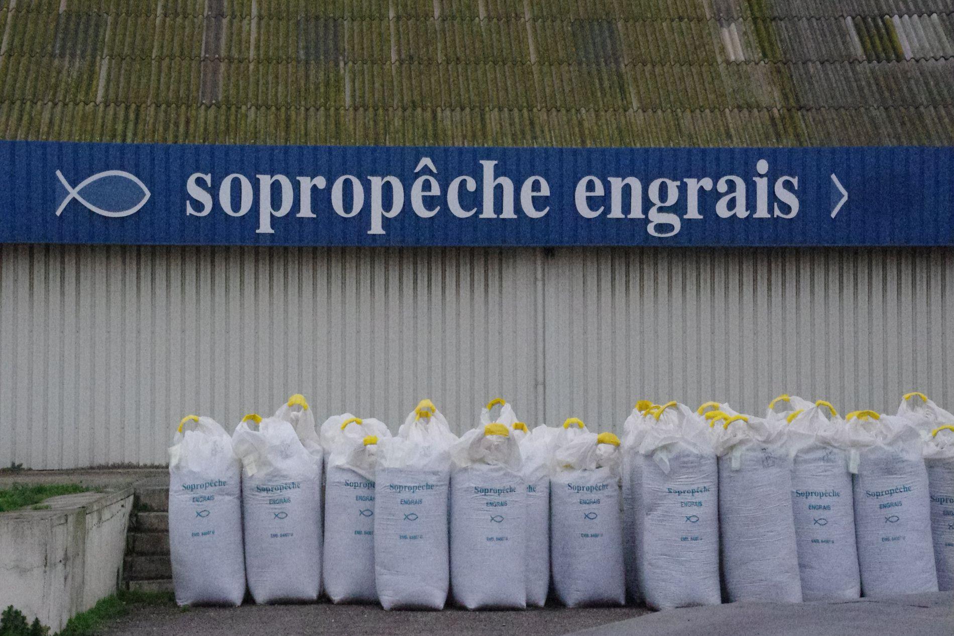 Engrais usine Montfavet